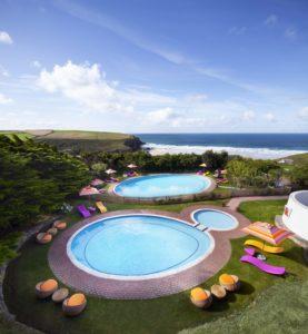 Bedruthan three swimming pools