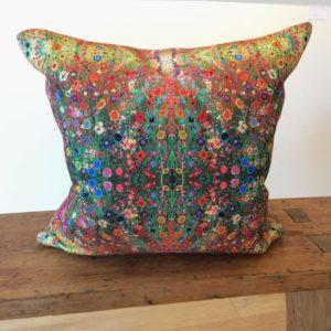 Cornflower Dreams handmade cushion
