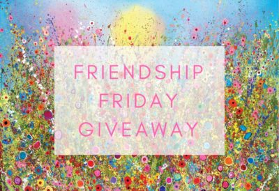 FRIENDSHIP FRIDAY- The Black Friday Alternative - GIVEAWAY