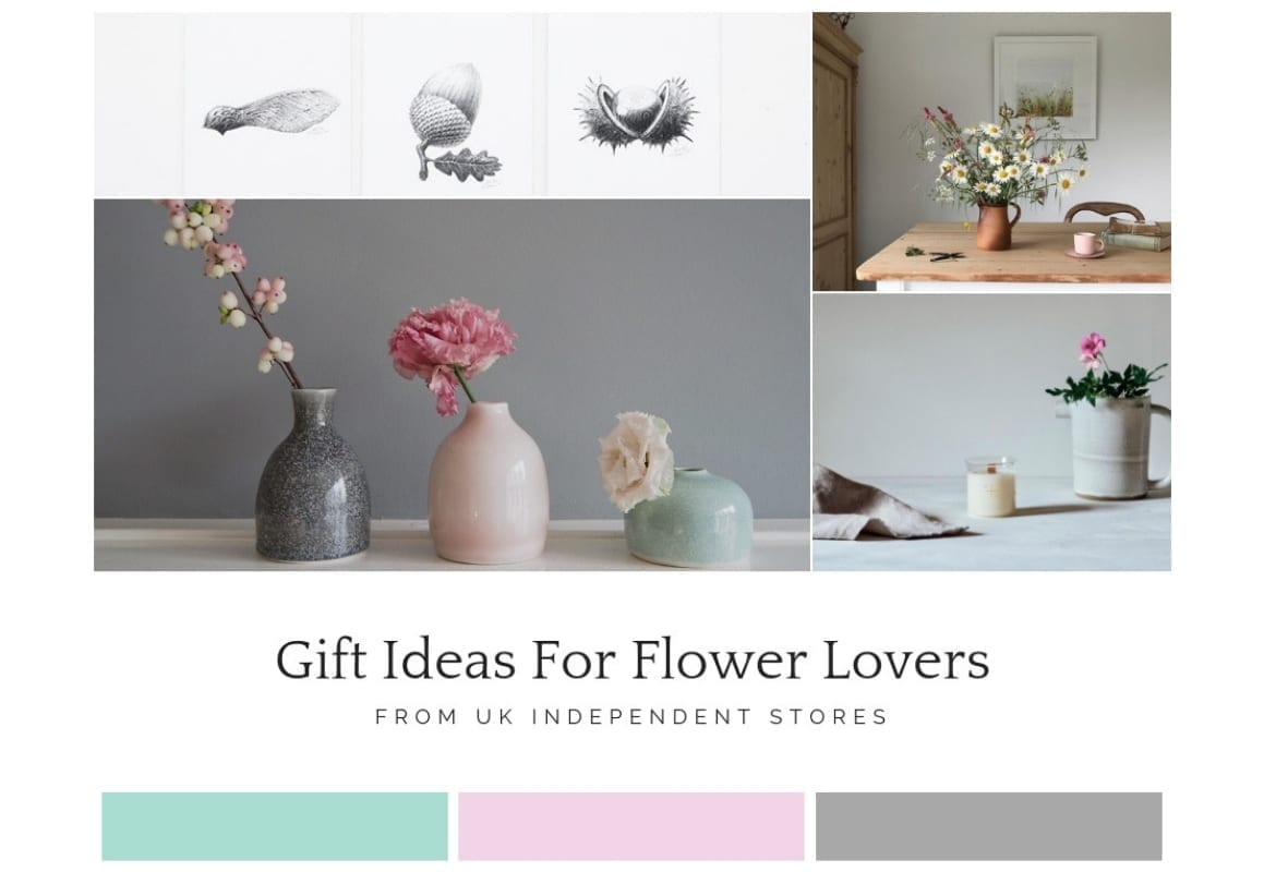 Flower Gift Ideas: Christmas Gift Guide For Flower Lovers