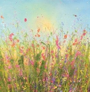 glittering flowerscapes