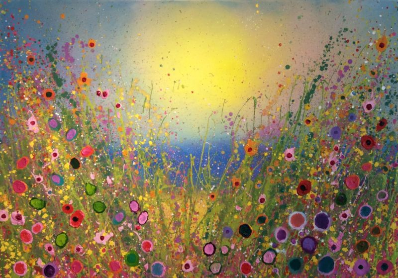 I love you with all of my hear Flower Painting