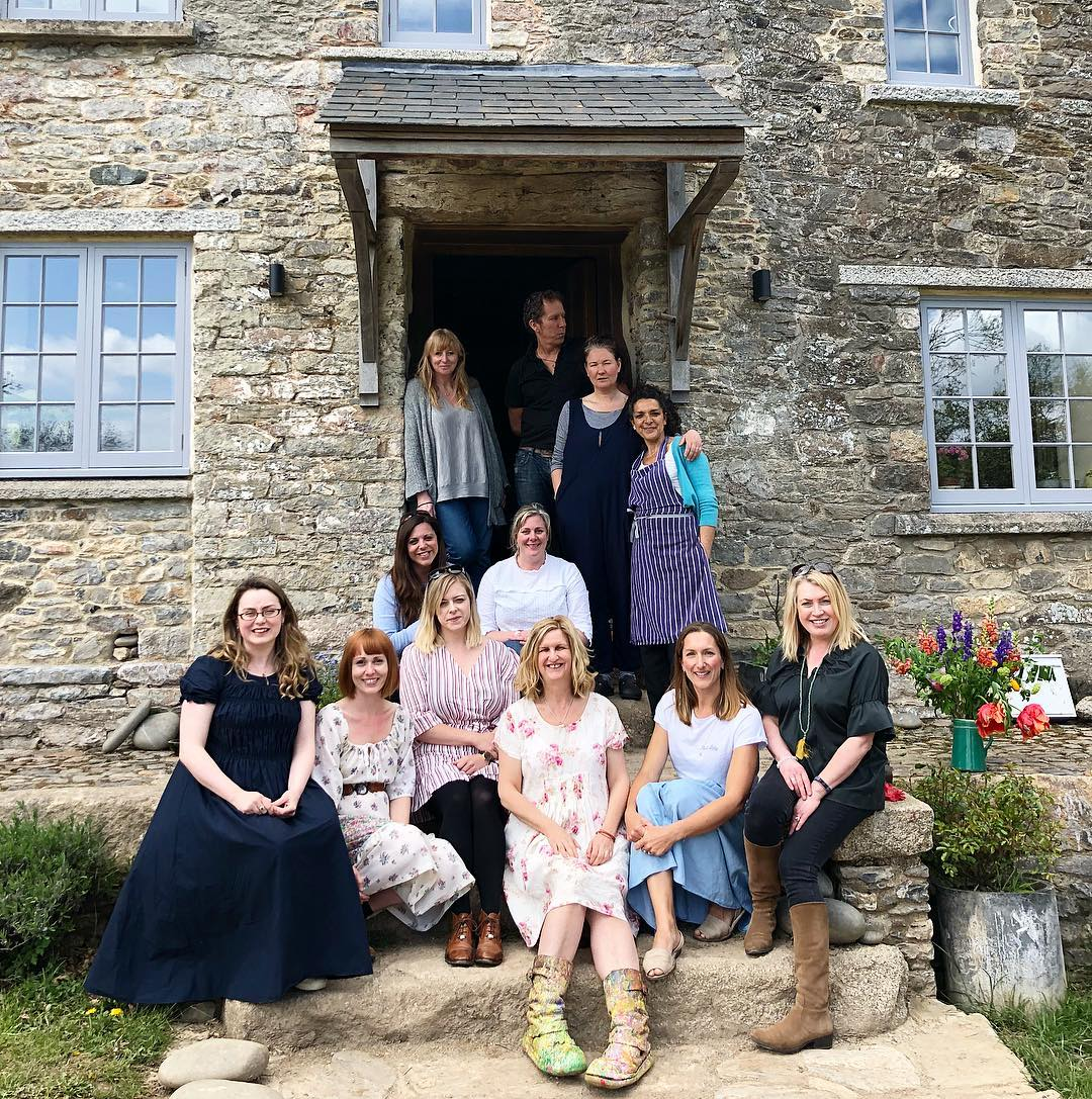 a creative gathering in devon at Pip Farm