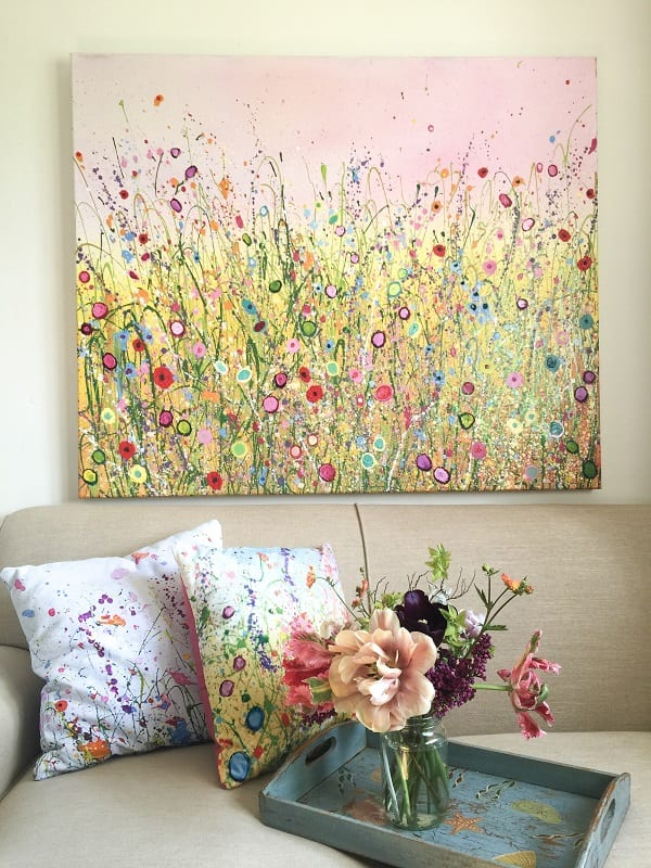 Flower gift ideas for Christmas from UK flower Artist Yvonne Coomber