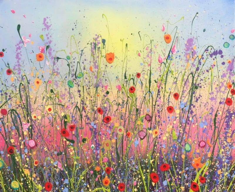 Summertime Love- How to Hang Wall Art by Yvonne Coomber