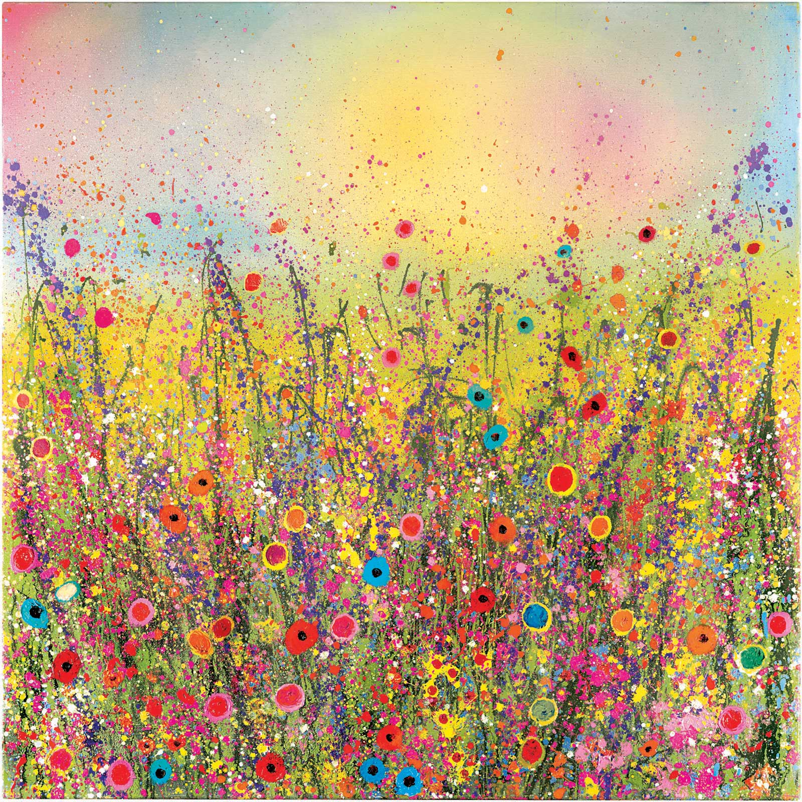 Midsummer Dreaming Flower Art