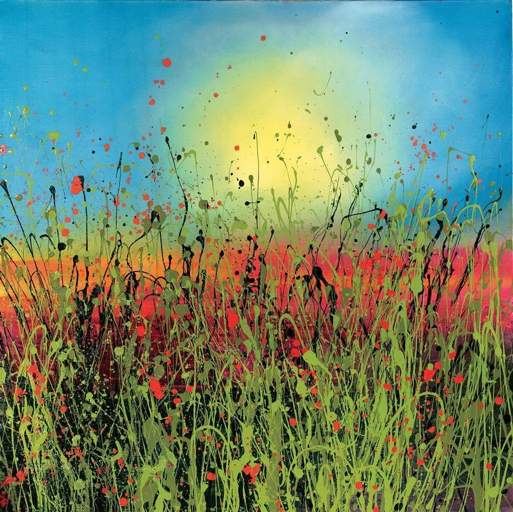 Contemporary Art for Sale - Poppy Paintings 02