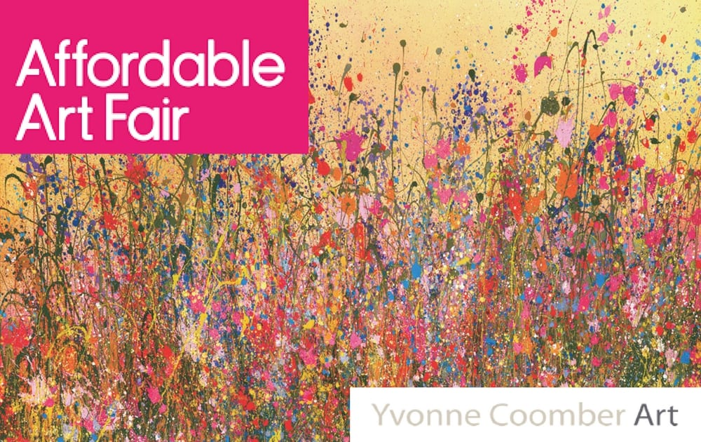 Yvonne Coomber at the London Affordable Art Fair 2018