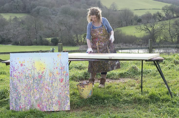 Why Being an Artist In Devon Is Magical